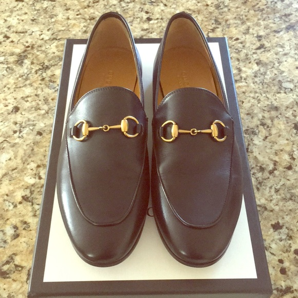f8fcbe45007 Gucci Shoes - Gucci Jordaan Leather Loafer Black 7.5